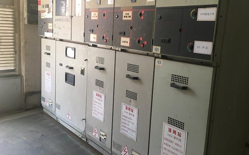 东成工业园2台630KVA高压变配电安装工程